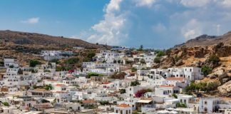 ostrov Rhodos
