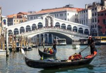 most Rialto v Benátkach