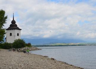 Liptovská mara kostol