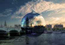 Londyn vianoce