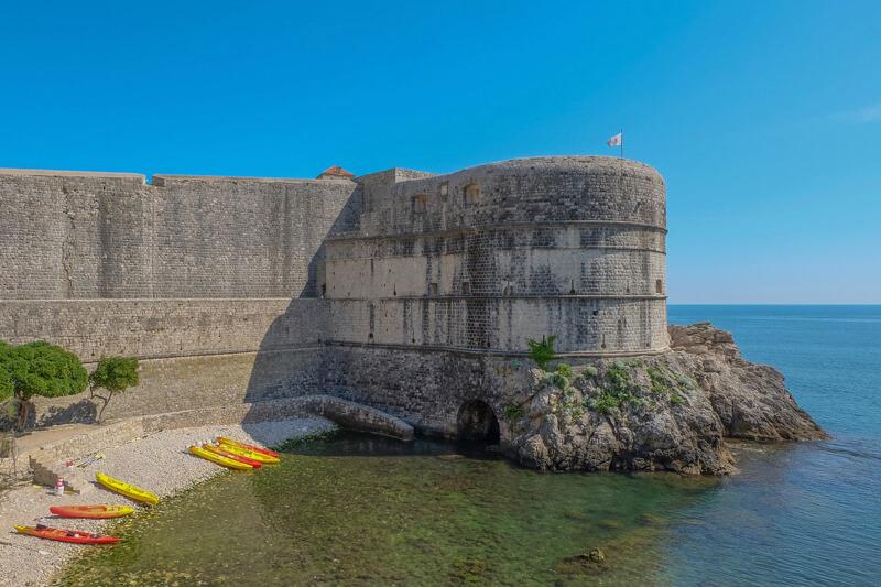 Dubrovnik hradby