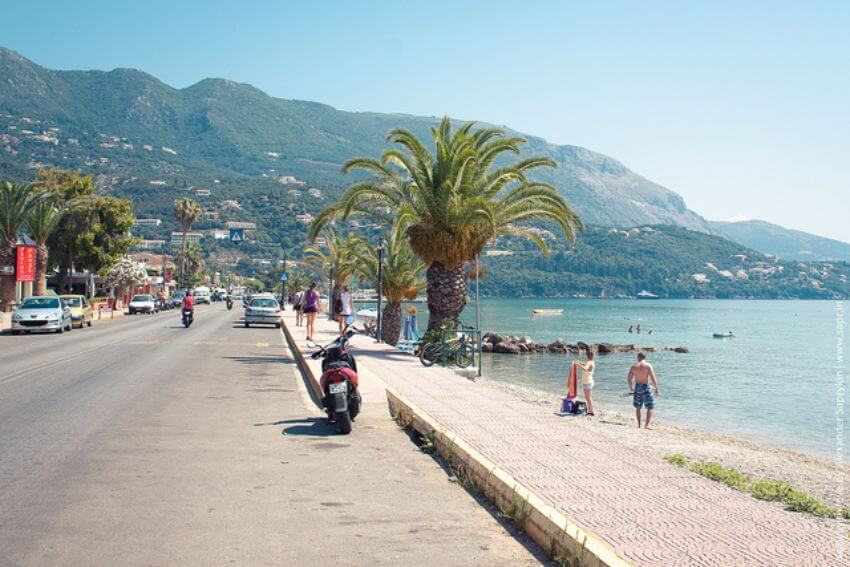 Ipsos plaz Korfu