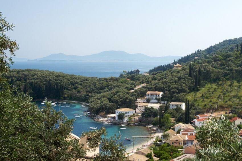 plaz Kalami ostrov Korfu