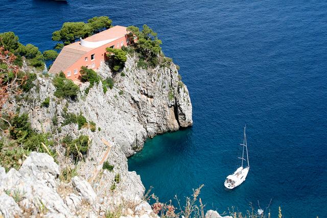 Vila Malaparte ostrov Capri